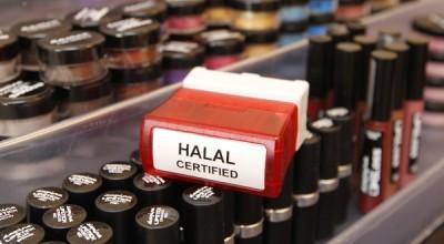 Un rayon de cosmétiques halal en Grande-Bretagne. REUTERSDarren Staples.